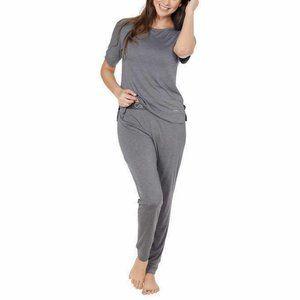 NEW Calvin Klein Lounge Pajama Set Medium Gray
